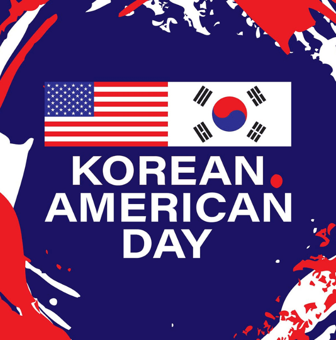 Korean American Day graphic