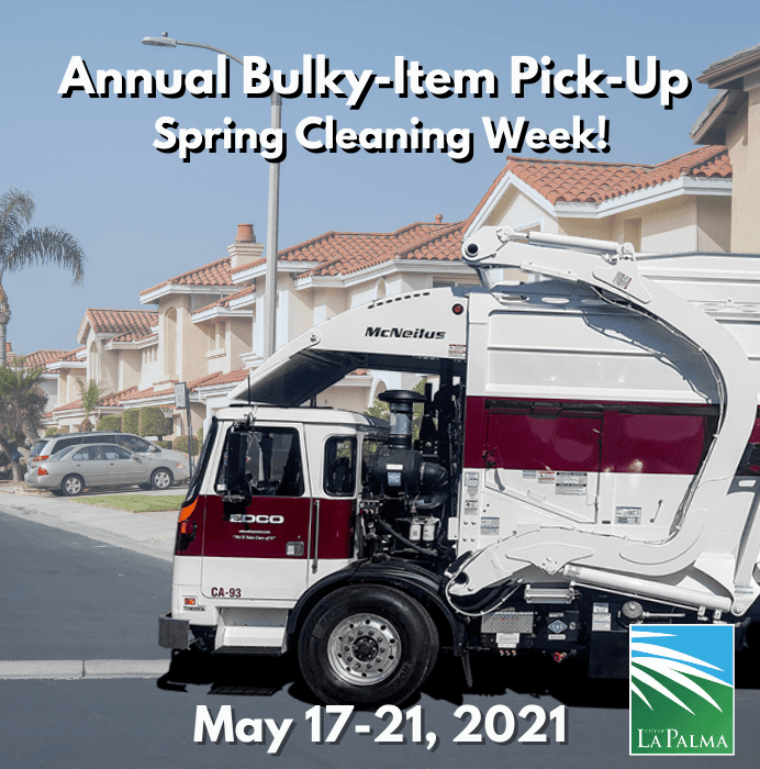 Annual Bulky Item Spring Clean-up Week (1)