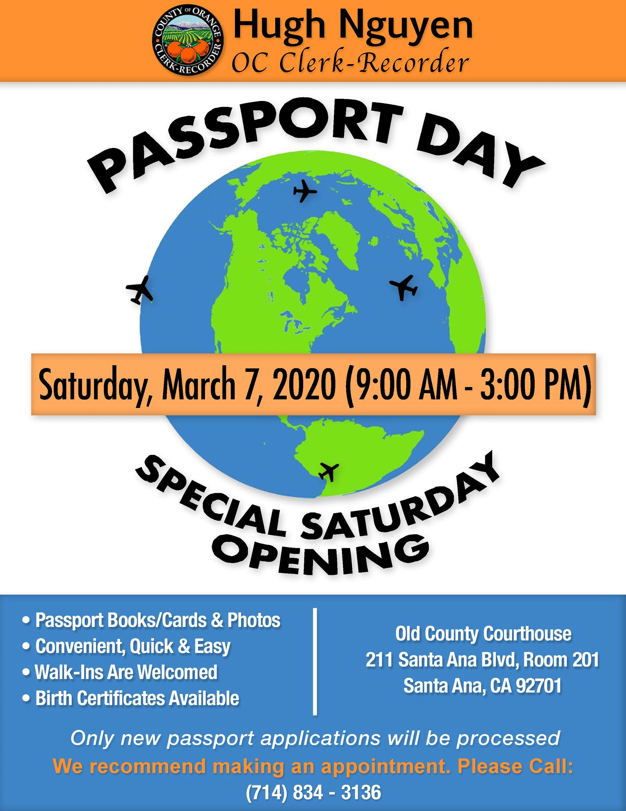 Flyer - Passport Day 2020